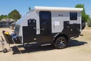 Signature Iridium Camper Trailer Closed Passenger Side