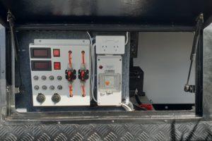 Signature Iridium Camper Trailer Control Panel