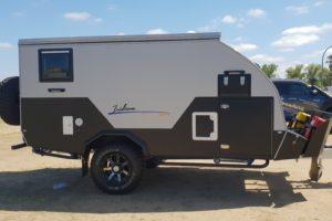 Signature Iridium Camper Trailer Drivers Side Closed