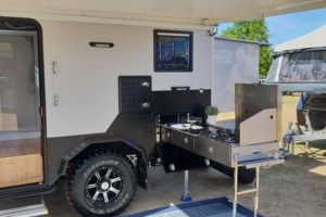 Signature Iridium Camper Trailer Slide Out Kitchen