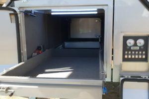 Signature Platinum Camper Trailer Fridge Draw and Control Panel