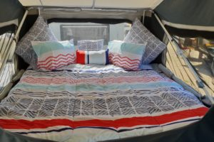 Signature Platinum Camper Trailer Queen Bed