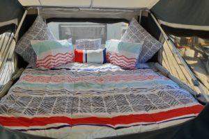Signature Platinum Camper Trailer Queen Bed