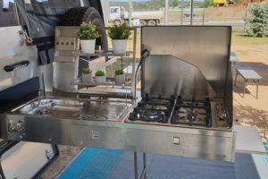 Signature Platinum Camper Trailer Slide Out Kitchen