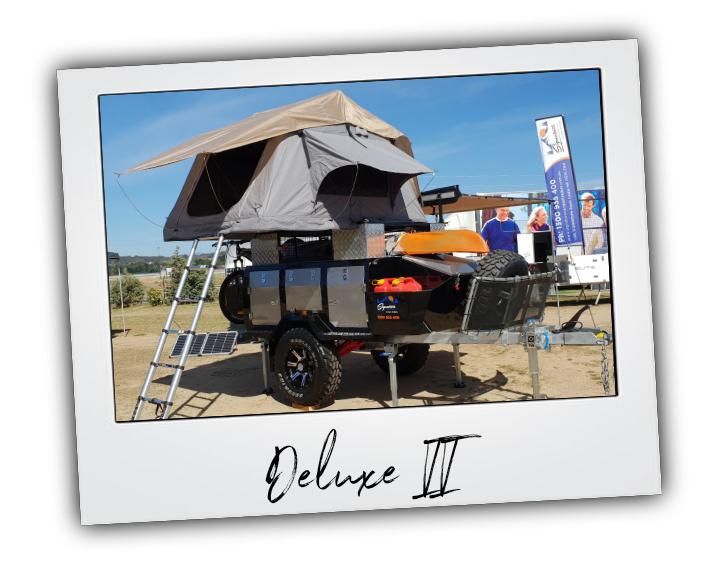 Signature Deluxe II Camper Trailer Polaroid