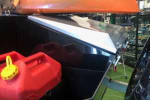 Signature Camper Trailers - Deluxe Front Toolbox and 2 Jerry Can Holders