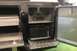 Signature Camper Trailers - Deluxe Left Side Rear Control Panel