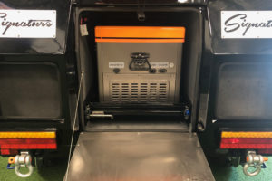 Signature Camper Trailers - Deluxe Rear Cupboards Open