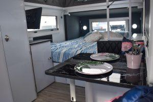 Hybrid camper dinette