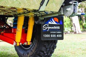 Camper Trailer suspension