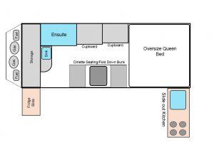 Floorplan Iridium 15 Hybrid Camper